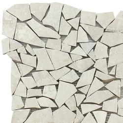 Monestir trencadis blanco | Ceramic mosaics | KERABEN