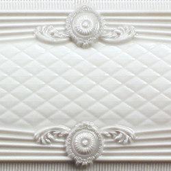 Mistery listelo boboli flow white | Wall tiles | KERABEN
