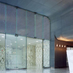 powerglass® partition and indoor façade: Tour Europe | Partitions | Peter Platz Spezialglas