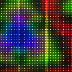 powerglass® RGB media façade | Vidrios laminados | Peter Platz Spezialglas