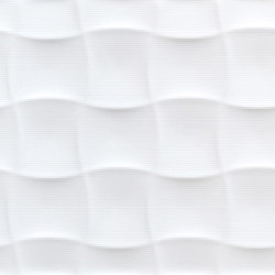 Millenium quilt blanco brillo | Ceramic tiles | KERABEN