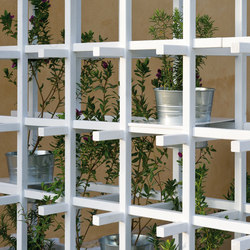 Green Wall Horizontal Trellises From Dedon Architonic