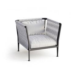 Treble armchair | Garden armchairs | Unopiù