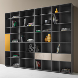 Nex Shelf | Shelving systems | Piure