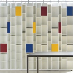 Coloured Box Random | Shelving systems | MDF Italia