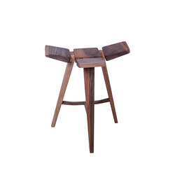 Clover Bar Stool Low | Taburetes de bar | Hookl und Stool