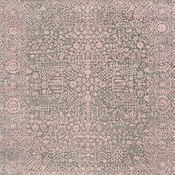 Kork Reintegrated grey & pink oxidized | Tapis / Tapis design | THIBAULT VAN RENNE