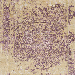 Immersive Golden orchid purple | Rugs | THIBAULT VAN RENNE