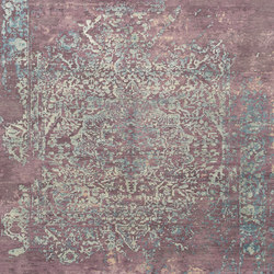 Immersive Golden orchid purple blue | Rugs | THIBAULT VAN RENNE