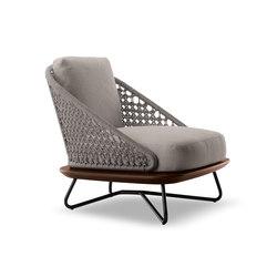 Rivera | Garden armchairs | Minotti