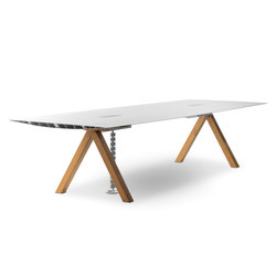 Table B - Cable management | Tables collectivités | BD Barcelona