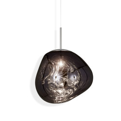 Melt Pendant Smoke | Suspended lights | Tom Dixon