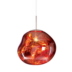 Melt Pendant Copper | Suspended lights | Tom Dixon