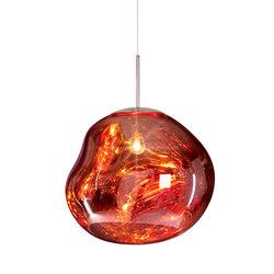 Melt Pendant Copper | General lighting | Tom Dixon