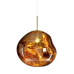 Melt Pendant Gold | Suspended lights | Tom Dixon