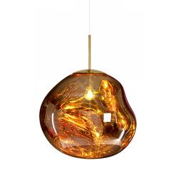 Melt Pendant Gold | General lighting | Tom Dixon