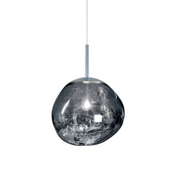 Melt Mini Pendant Chrome | Suspended lights | Tom Dixon