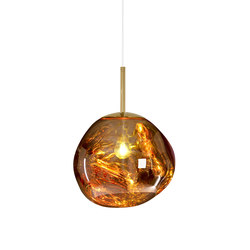 Melt Mini Pendant Gold | Illuminazione generale | Tom Dixon