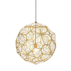 Etch Web Pendant Brass | Suspended lights | Tom Dixon