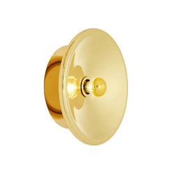 Spun Wall Light Brass | Iluminación general | Tom Dixon