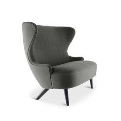 Micro Wingback Sofa Black Leg Hallingdal 65 | Divani | Tom Dixon