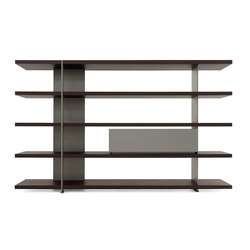 Bristol System Bookcase | Shelving | Poliform