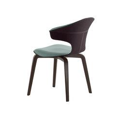 Montera Armchair | Restaurant chairs | Poltrona Frau