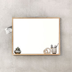 Qualitime Mirror | Espejos de pared | Ethnicraft