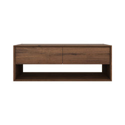Walnut Nordic TV cupboard | Supports multimédia | Ethnicraft