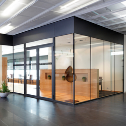 Forster fuego light EI30 | Fire-resistant door | Sistemas de mamparas | Forster Profile Systems