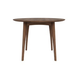 Walnut Osso round table high | Mesas para restaurantes | Ethnicraft
