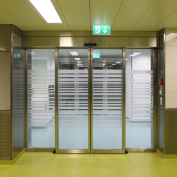 Forster fuego light EI30 | Fire-rated sliding door | Puertas de entrada | Forster Profile Systems