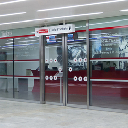 Forster fuego light EI30 | Fire-rated sliding door | Partitions | Forster Profile Systems