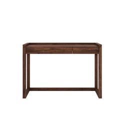 Walnut frame pc console | Computer desks | Ethnicraft