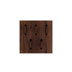 Walnut Utilitile hooked | Ganci / Supporti | Ethnicraft