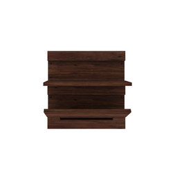 Walnut Utilitile keyed | Mensole / supporti mensole | Ethnicraft