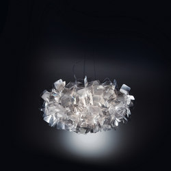 Clizia Fumé suspension | Suspended lights | Slamp