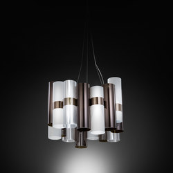 General lighting-LED-lights-Suspended lights-La Lollo suspension-Slamp