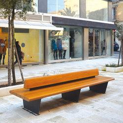 Canapè | Außenbänke | Metalco