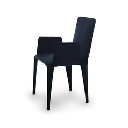 Nova chair with armrests | Chaises | Eponimo
