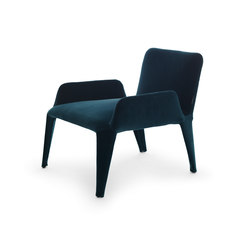 Nova armchair with armrests | Loungesessel | Eponimo
