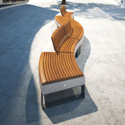 Diamante | Exterior benches | Metalco