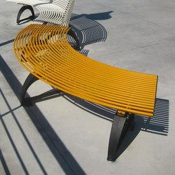 Libre Piana Settore | Exterior benches | Metalco