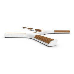 Lorenz | Exterior benches | Metalco