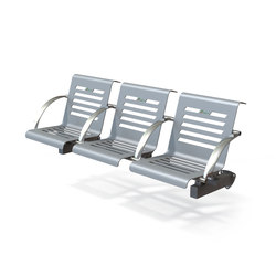 Platinum | Beam / traverse seating | Metalco