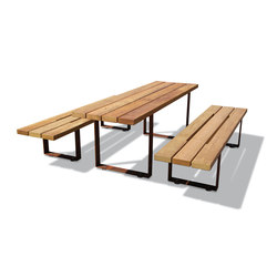 Pic Bull | Bancs avec tables | Metalco