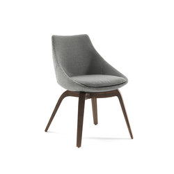 Penelope | Visitors chairs / Side chairs | Porada