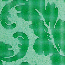 Ardassa Emerald A/B | Glass mosaics | Bisazza
