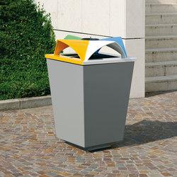Ecomix | Exterior bins | Metalco