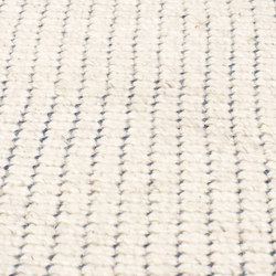 Nordic Flower ivory & denim blue | Rugs | kymo